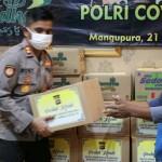 Polri Gerakan Bhakti Sosial Peduli Covid -19 Di Kabupaten Badung