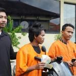 Sat Reskrim Polresta Denpasar, Arrests Two Acting Robbers from Munti.