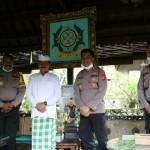 AKBP Roby Kunjungi Penglingsir Puri Mengwi, Tingkatkan Sinergitas Cegah Covid -19.