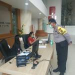 Kompol I Wayan Suana, SH, Koordinasi Di Kantor BPBD Badung, Cegah Covid -19.