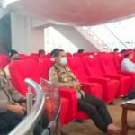 Kepala Kepolisian ResorBadung AKBP Roby Septiadi, Ikuti Video Conference Di Puspem Badung.