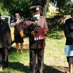 Polres Jembrana Memimpin Upacara Pemakaman Jenazah Almarhum AKP I Gusti Lanang Gelgel,SH.