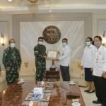 Kodam IX/Udayana Siap Distribusikan 3.000 Masker dari Fakultas Kedokteran Unud