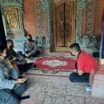 Kasat Binmas Luh Wirati, Koordinasi Dengan Di Puri Kawan Carangsari