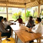 Wakapolres Badung Kunjungi Wakil Ketua DPRD Badung.