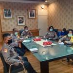 AKBP Roby Septiadi, Ikuti Vicon Kabaharkam Polri Satgas Penanganan Covid -19