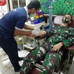 Dandim Tabanan Lakukan Donor, Bantu Warga Yang Membutuhkan Darah