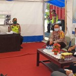 Kapolres Jembrana Menerima Kunjungan dan Eksistensi Ops Ketupat Agung 2020 Pamenwas Polda Bali.