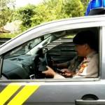Satsabhara Polres Badung Gencarkan Patroli Dengan Himbauan, Cegah Covid-19.