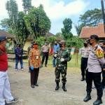 Kapolres Bangli Bersama Muspida Kunjungi Personil BKO Brimob Dan Dalmas Polda Bali Diwilayah Susut Bangli,