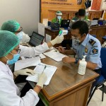 Anticipating the Spread of COVID-19, All Immigration Office Employees of Class I TPI Denpasar Undergo Rapid Test.