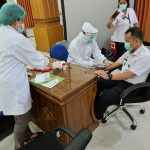 All Immigration Office Employees of Class I TPI Denpasar Undergo Rapid Test
