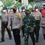 Kapolres Klungkung Bersama Forkompida Laksanakan Patroli Pantau Salat Id di Masjid