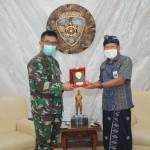 Pangdam Terima Audiensi PT. PLN (Persero) Unit Induk Distribusi Wilayah Bali