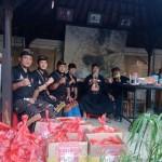 Posko Persaudaraan Hindu Muslim Di Bali  Terima Sembako Dari Arya Wedakarna