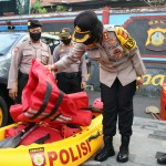 Apel Gelar Pasukan dan Cek Kesiapan Alat Pendukung Antisipasi Bencana Alam.