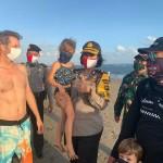 Kompol Utariani Himbau Pengunjung Dilarang Masuk Di Pantai Batu Bolong