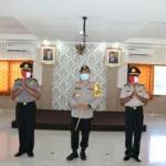 Kapolres Tabanan AKBP Mariochristy P.S Siregar, Tabanan Melantik Kenaikan Pangkat Dua personil