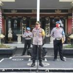 Kapolres Badung Beri Arahan Kepada Anggota Saat Apel Pimpinan