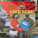 Kegiatan Bakti Sosial Di Pura Penataran Nusa Penida Klungkung, Sambut HUT Bhayangkara ke 74.
