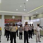 Sebanyak 34 Personel Polres Bangli Naik Pangkat Satu Tingkat secara Virtual