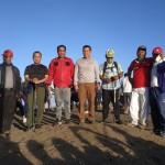Kapolsek Kintamani Dampingi Pangdam IX Udayana Kunjungan Kunker di Wilayah Kintamani
