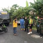 Putus Mata Rantai Covid-19 di Asrama Prajurit, Yonzipur 18/YKR dan BPBD Bali Semprotkan Disinfektan