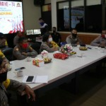Kapolres Dan Jajaran Nonton Bareng Live Metro TV