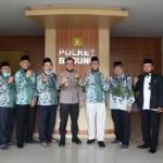 Wakil Cabang NU Kuta Utara Silaturahmi di Polres Badung