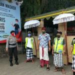 Kasat Binmas AKP Luh Wirati,  Imbauan Pengunjung Pasar