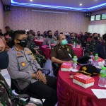 Kapolres Bangli Hadiri Sosialisasi Bhakti TNI Dirsisment Pusterad di Kabupaten Bangli
