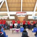 Kapolres Badung Wakili Penyaluran bantuan sosial dari Alumni AKABRI Angkatan 88/W84