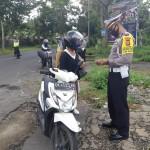 Polres Bangli Tindak 369 Pelanggar, Operasi Patuh Lempuyang.