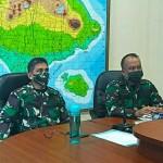 Danrem163/Wira Satya Bersama Kakesdam IX/Udayana Lakukan Rapat Koordinasi