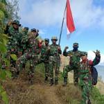 Dandim Bangli Lakukan Pendakian Gunung Abang, Jelang Hut Ke-75 RI.
