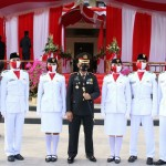 Pejabat Tinggi Badung Hadiri Upacara Penurunan Bendera Merah Putih