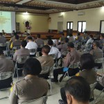 Kabag Ops Polres Badung Sambut Tim Was Ops Itwasum Polri di Polresta Denpasar