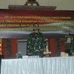 Kodam IX/Udayana Gelar MTT Penataran Hukum Sebagai Fungsi Komando Bagi  Dandim dan Danyon Setingkat