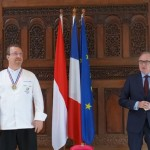 Chef Chris Salans Honored by the French Government