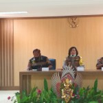 Kabag Sumda Indra Puspani Sambut Tim Supervisi Dari Bidkum Polda Bali