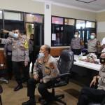 Kapolres Badung Sambut Kunjungan Kerja Pamatwil Polda Bali