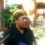 Sebelum Dilantik Puskorwil Bali, Persembayangan AA Ngurah Agung, di Pura Maospait