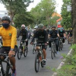 Pangdam IX/Udayana Ajak Anggota Bersepeda