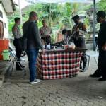 Anggota Polisi Jaga Kantor KPU dan Bawaslu