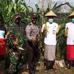 Bhabinkamtibmas Desa Angantaka, Ajak Warga Tetap Disiplin Prokes