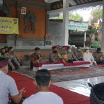 Kapolres Bangli Kembali Sambangi Tiga Desa di Bangli Dalam Safari Kamtibmas