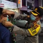 Sebanyak 19 Orang Tanpa Masker Diberi Sanksi Push Up