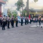 Polres Badung Gelar PLB, Akibat Aksi Penolakan Pengesahan Undang Undang Cipta Kerja.