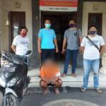 Polisi Tangkap Seorang Residivis, Saat Mengendarai Sepeda Motor Curian.