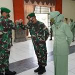 Sebanyak 148 Personel Korem 163 Wira Satya Naik Pangkat